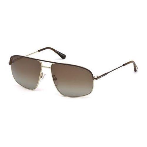 Tom ford Okulary słoneczne ft0467 polarized 50h