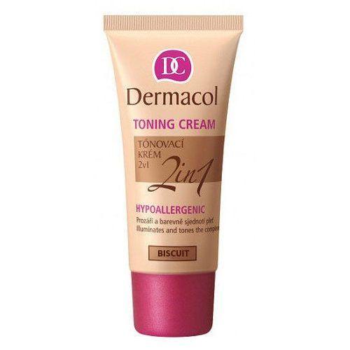 toning cream 2in1 30ml w krem koloryzujący biscuit do wszystkich typów skóry marki Dermacol