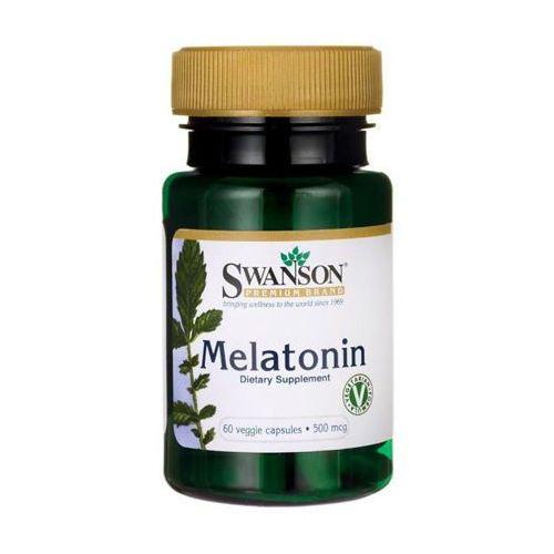 SWANSON Melatonina 500mcg x 60 kapsułek