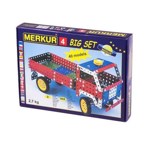 Merkur Zestaw 4 40 modele 602 szt - BEZPŁATNY ODBIÓR: WROCŁAW!