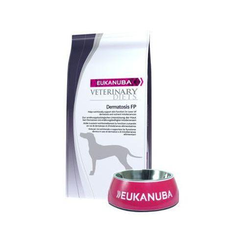 EUKANUBA Dermatosis FP 12kg + Miska Eukanuba GRATIS!