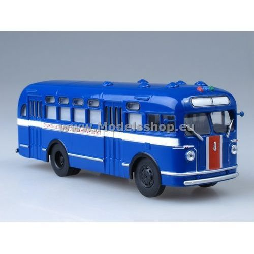 City bus zis-155 road police (blue) -  marki Ssm