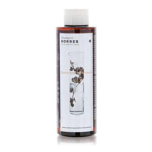 Shampoo for normal hair with aloe and dittany szampon z aloesem i wyciągiem z lebiodki do włosów normalnych 250ml -  marki Korres