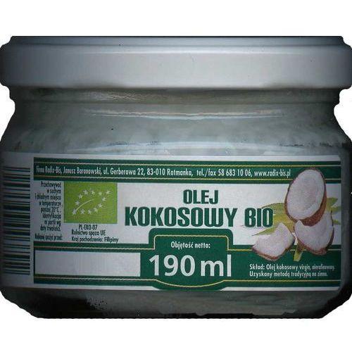 Radix-bis Radix bis nierafinowany bio olej kokosowy 180ml