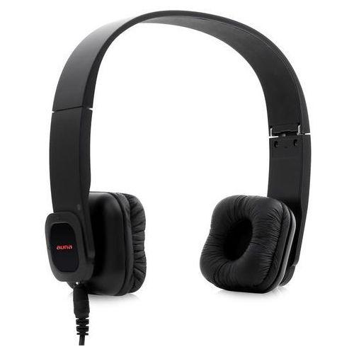 Auna KUL-03 zestaw głośnomówiący Bluetooth Akumulator słuchawki czarne Zamów ten produkt do 21.12.16 do 12:00 godziny i skorzystaj z dostawą do 24.12.2016