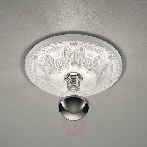 Lampa Sufitowa Trio Leuchten LILLY Biały, 1-punktowy - Dworek/Vintage/Antyk - Obszar wewnętrzny - LILLY - Czas dostawy: od 3-6 dni roboczych (4017807433784)