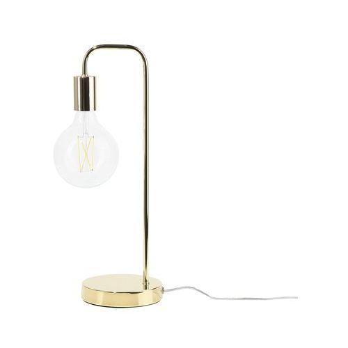 Lampa stołowa złota SAVENA (4260602370390)