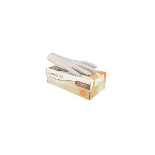 Rękawiczki nitrylowe safeHAND COATS, bezpudrowe, op. 200 szt.