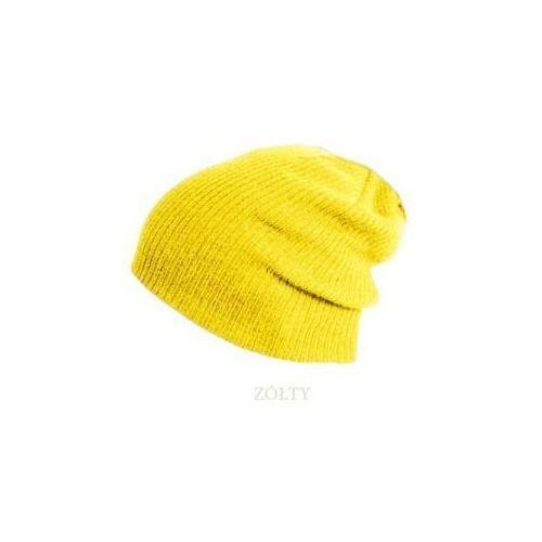 Pamami Czapka zimowa beanie smerfetka 915 - żółty