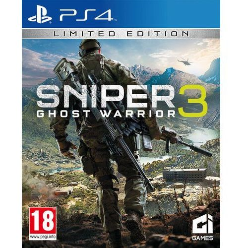 Gra Sniper Ghost Warrior 3 z kategorii: gry PS4