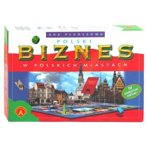 Polski biznes w polskich miastach - produkt z kategorii- Gry planszowe