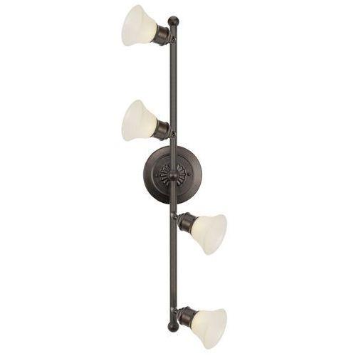 EGLO 89059 - Lampa sufitowa ALAMO 4xG9/40W ciemny brąz / beż (9002759890599)