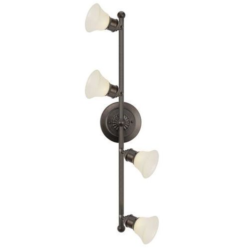Eglo 89059 - lampa sufitowa alamo 4xg9/40w ciemny brąz / beż