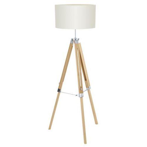 Eglo 94324 - Lampa podłogowa LANTADA 1xE27/60W/230V