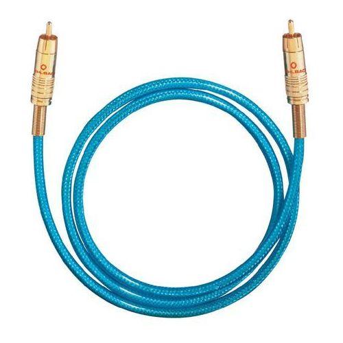 Kabel cyfrowy RCA, Oehlbach NF113, wtyk RCA / wtyk RCA, 75 Ohm, niebieski, 0,5 m z kategorii Kable audio
