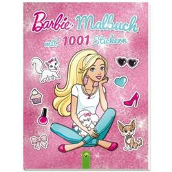 Barbie - Malbuch mit 1001 Stickern