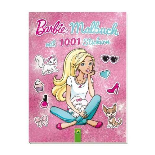 OKAZJA - Barbie - Malbuch mit 1001 Stickern (9783849907846)