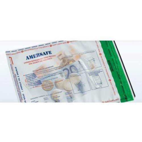 Amersafe Bezpieczna koperta b5 przezroczysta
