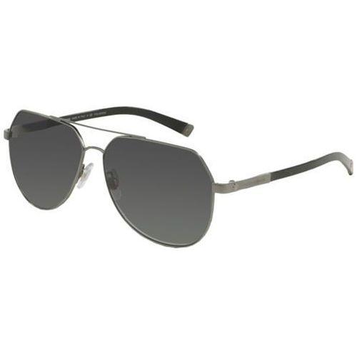 Okulary słoneczne dg2133 basalto polarized 1108t3 marki Dolce & gabbana