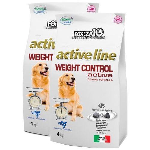 Forza10 Weight Control Active 2x4kg (8kg) dla psa: waga - 2 x 4kg DOSTAWA 24h GRATIS od 99zł