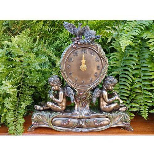 Secesyjny zegar z grającymi cherubinkami (an10361a4) marki Veronese