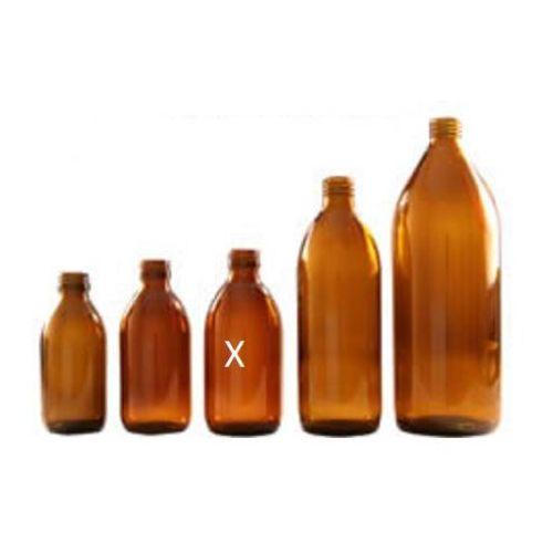 Butelka apteczna 300 ml szkło brązowe