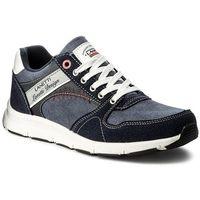 Sneakersy LANETTI - MP40-7659 Granatowy, w 4 rozmiarach