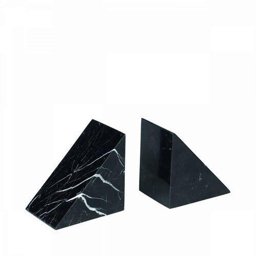 Blomus - marmurowy stoper do książek - pesa - czarny - 2 szt. - czarny