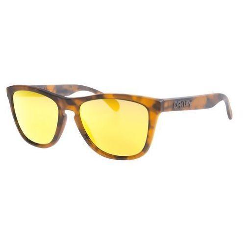 Oakley Okulary przeciwsłoneczne Brązowy UNI (2001040548413)