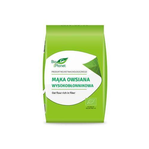 Mąka owsiana wysokobłonnikowa bio 1kg - marki Bio planet