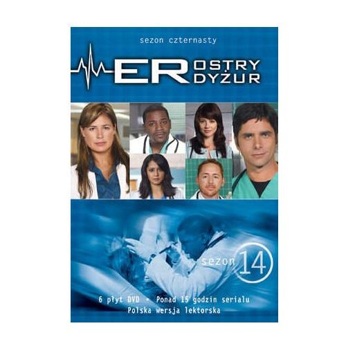 Ostry dyżur, sezon 14 (3 DVD) - Galapagos (7321909252592) - OKAZJE