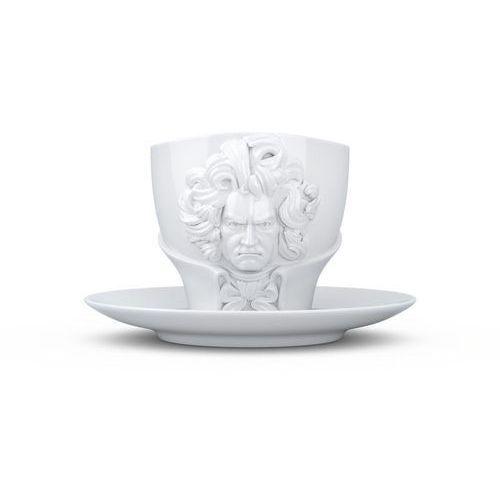 - filiżanka ludwig von beethoven - biała - 0,26 l marki 58products