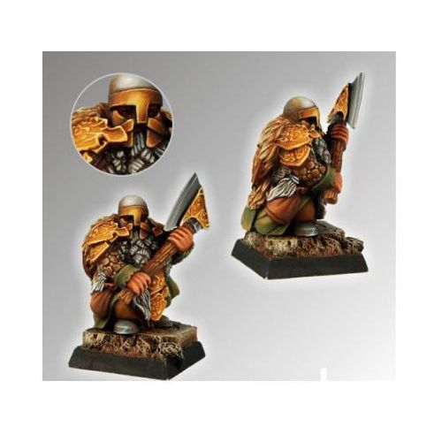 Scibor 28fm0025 - dwarf ducal guard #4 28mm marki Scibor miniatures