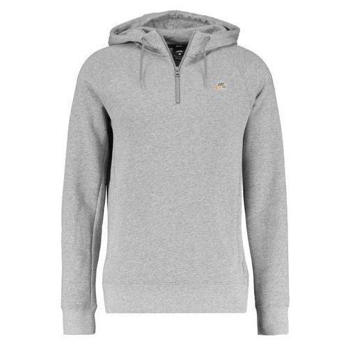 Nike SB ICON Bluza z kapturem dark grey heather/circuit orange, XS-XXL