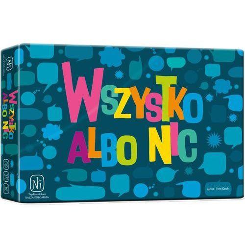 Nasza księgarnia Gra wszystko albo nic - darmowa dostawa od 250 zł!!