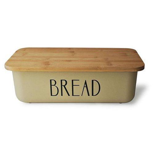 Chlebak metalowy z deską bambusową. Najniższe ceny, najlepsze promocje w sklepach, opinie.