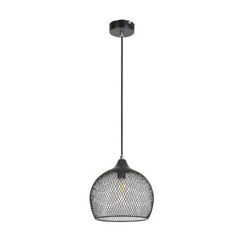 LAMPA wisząca RONAN 7601 Rabalux ażurowa OPRAWA metalowy ZWIS loftowa siatka czarny, kolor biały;czarny;zielony
