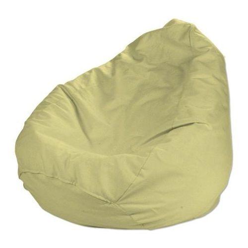 Dekoria  worek do siedzenia, pastel lemon (pastelowa limonka), Ø60x105 cm, cotton panama
