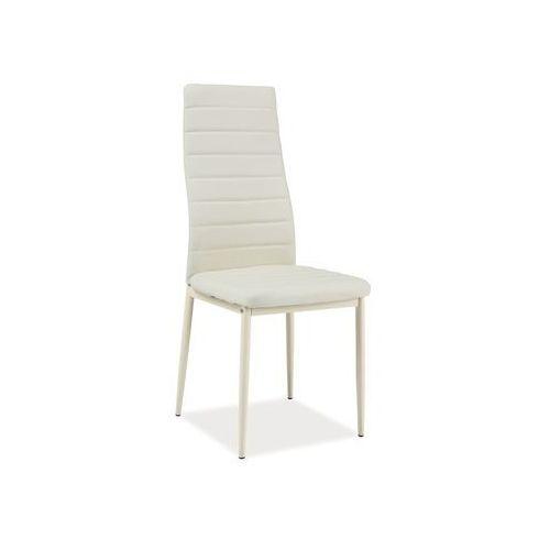 Nowoczesne krzesło H-261 k krem, H-261 k CR