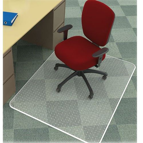 Q-connect Mata pod krzesło , na dywany, 152,4x116,8cm, prostokątna