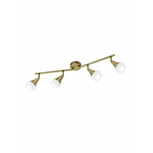 Trio -leuchten trumpet lampa sufitowa mosiądz, 4-punktowe - dworek - obszar wewnętrzny - trumpet - czas dostawy: od 3-6 dni roboczych (4017807353297)