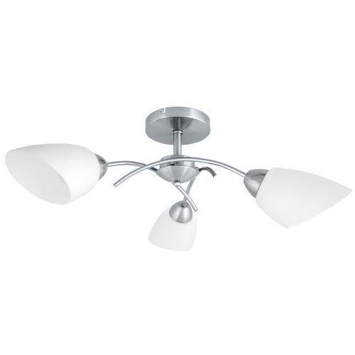 Spotlight Plafon lampa sufitowa spot light villetta 3x60w e27 satyna 8141327 (5901602308028)