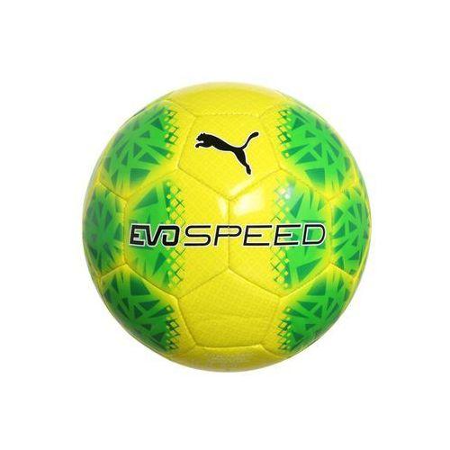 Puma EVOSPEED 5.5 FADE Piłka do piłki nożnej safety yellow/green gecko/black z kategorii piłka nożna
