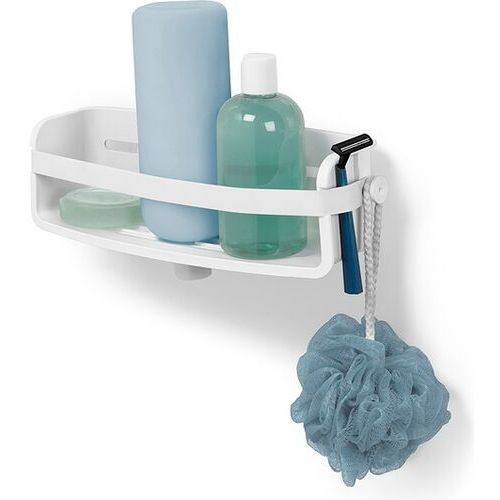 Półka prysznicowa flex gel-lock biała