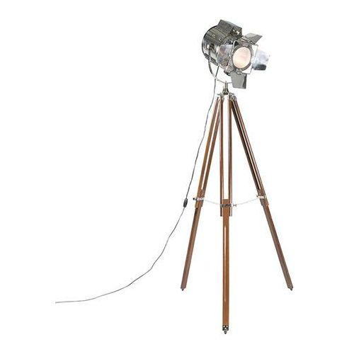 Lampa podlogowa Tripod Studio brazowa z chromem, kup u jednego z partnerów