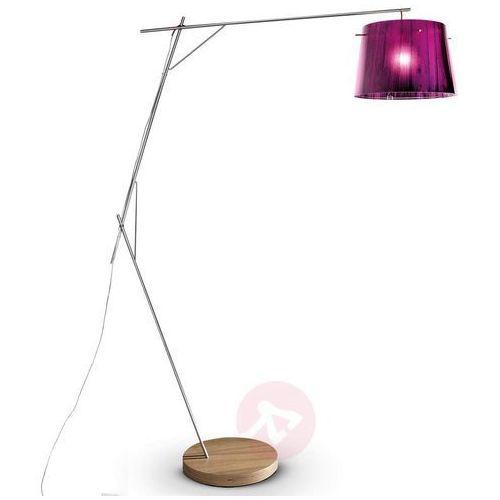 Slamp WOODY lampa stojąca Fioletowy, 1-punktowy - Nowoczesny - Obszar wewnętrzny - WOODY - Czas dostawy: od 8-12 dni roboczych