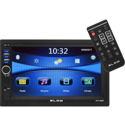 "Radio BLOW AVH-9880 2DIN 7"" GPS (5900804102656)"