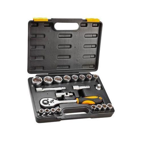 Zestaw kluczy nasadowych 1/2 cala 38d642 (21 elementów) + darmowy transport! marki Topex