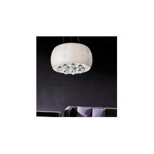 quince 50 az0702 lp1056-6 lampa wisząca zwis 6x28w g9 biała / chrom - negocjuj cenę marki Azzardo