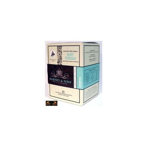 Herbata  mint verbena, kartonik piramidki 20 szt. marki Harney & sons